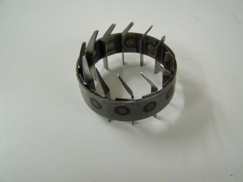 Axial vane ring body